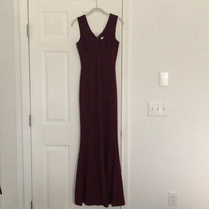 Nordstrom Dresses - Formal dress - low cut - front slit